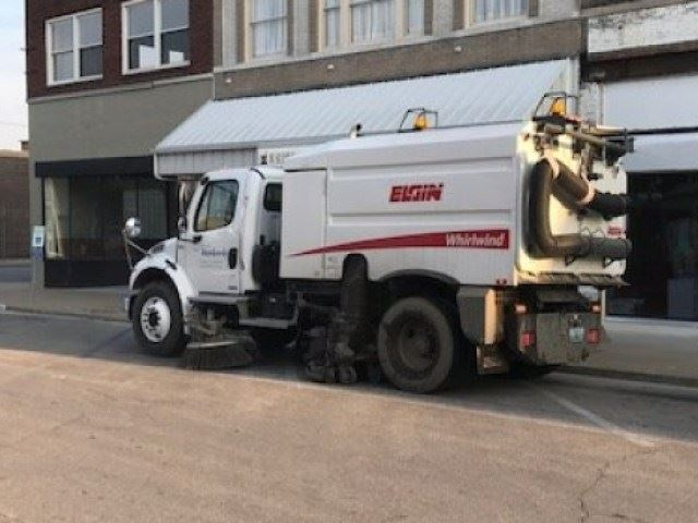 Street Sweeping vehicle